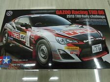 Tamiya 1/24 Gazoo Racing TRD 86 (2013 TRD Rally Challenge) Model Kit Voiture #24337