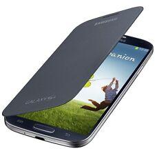 Genuine Samsung Galaxy S4 i9500 Nova Black Flip Pouch Case EF-FI950BBEGWW