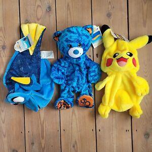 BNWT Build a Bear Workshop Set Of 3 Empty Toys Pokemon Hot Wheels Finding Dory