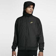 Nike Sportswear Windrunner Winterized QS Men's Full Zip Jacket 2XL Black Gold