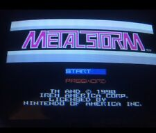 Nintendo Playchoice 10 MetalStorm Cart Pc-10 Metal storm
