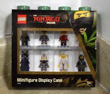 LEGO NINJAGO MOVIE MINIFIGURE DISPLAY CASE SMALL FOR 8 FIGURES (4065) - FREE S/H