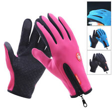 Winter Thermal Insulated Gloves Warm Weather Windproof Riding Mittens Man Women