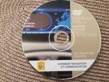 DVD GPS RENAULT CARMINAT ORIGINAL NAVY SYSTEME EUROPE 8200493944