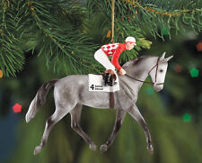 Breyer 700663bb Native Dancer Racehorse Ornament Horse Minor Paint Flaws - NIB
