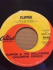"""RARE 7"""" - MR. JELLY FISH LITTLE OYSTER BAND / FLIPPER HOLLYWOOD CHILDRENS CHORUS"""