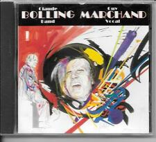 CD ALBUM 14 TITRES--CLAUDE BOLLING BAND & GUY MARCHAND VOCAL--1988