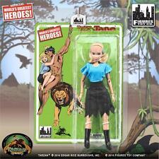 TARZAN,JANE RETRO mego SERIES 1 8 INCH ACTION FIGURE Worlds greatest heroes