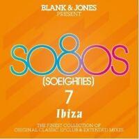 BLANK & JONES - PRESENT: SO80S 7 - IBIZA (DELUXE BOX) 3 CD NEU