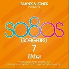 BLANK & JONES - PRESENT: SO80S 7 - IBIZA (DELUXE BOX) 3 CD NEU