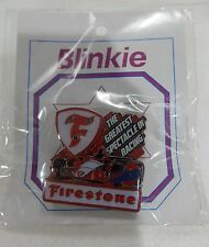 NEW 2017 101st INDY 500 FIRESTONE LIGHT UP COLLECTIBLE INDY CAR LAPEL PIN