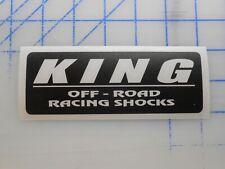 """King Shocks Decal Sticker 5.5"""" 7.5"""" 11"""" Coilover Baja Prerunner Lift Kit Race"""
