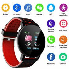 119 Plus Bluetooth Smart Watch GPS Waterproof SIM Camera Watch Scr