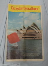 #T40.  1973 OPENING SYDNEY OPERA HOUSE  NEWSPAPER SUPPLEMENT