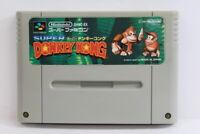 Super Donkey Kong Country 1 SFC Nintendo Super Famicom SNES Japan Import I5664 B