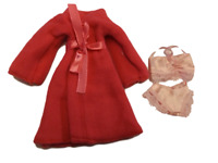 BARBIE DOLL SIZE LONG DRESSING NIGHT GOWN BATH ROBE VARIOUS DESIGNS UK SELLER