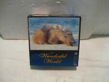 Collectible Wonderful World Polar Bears 750 Piece Puzzle 2006              gm178