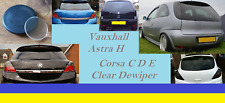Vauxhall Astra H Corsa C D E Clear Dewiper like Glass Vxr smooth flush euro mods