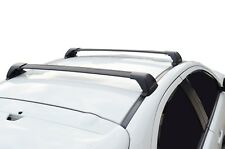 Aerodynamic Roof Rack Cross Bar for Mazda CX-5 12-17 KE Black Flush End