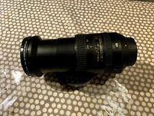 Nikon AF-S NIKKOR 18-200 f3.5-5.6G ED VR II & 2 x Lens Filters PL & Protector
