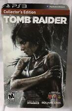 Square Enix PS3 Collectors Edition Tomb Raider 2013 OPEN