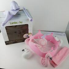 Lambs & Ivy Swan Lake Mobile Set- Pink White Swans Exc ~No Music ~