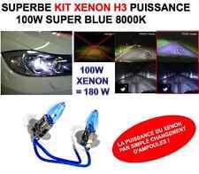 LE XENON SUR VOTRE VOITURE +200% LUMIERE! KIT H3 100W! PUISSANCE + LOOK XENON!
