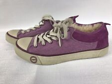 UGG Australia Evera Womens Size 6 Purple Suede Fashion Comfort Sneakers Shoes