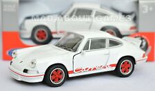PORSCHE 911 CARRERA RS 1973 12 cm Opening Doors Pull Back & Go Metal Diecast