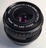 SMC PENTAX Pentax-M 35mm f/2.8 wide angle lens Camera