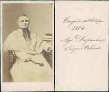 Congrès Catholique de Malines, Monseigneur Dupanloup évéque d'Orléans CDV v