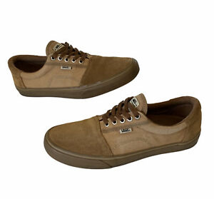 VANS Rowley Solo 66/99 Pro Skate Shoes Tobacco Gum Suede Ultra Cush Size 11