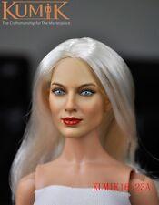 1/6 KUMIK Female Women Long Hair Head Painted Girl 16-23A Fit 12'' Figure Body