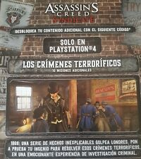 Assasin's Creed Syndicate DLC 10 misiones extra ps4