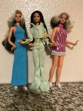 "3 VINTAGE IDEAL TUESDAY TAYLOR 1975  12"" Doll Lot"