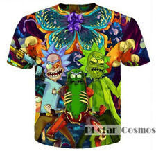 Rick and Morty Pickle 3D Print T-shirt Tee Short Sleeve Unisex Multi-Color Tops
