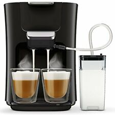 Philips Senseo Latte Duo HD6570/60 Kaffeepadmaschine (2650 W, 2 Kaffee- fri