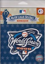 Official Licensed 2000 MLB World Series Collector Patch New York Yankees vs Mets