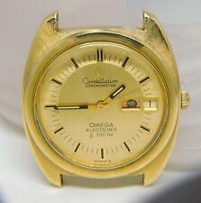 Vintage 14K GF Omega Constellation Chronometer Watch 12J 1260 42Y2 f300 Hz #599z