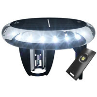 Solar And Wind Charged 360 Degree All Round Anchor Light, White LED Navigation
