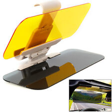 Car Sun Visor Shade Extender Clip on Day and night anti-glare mirror NEW
