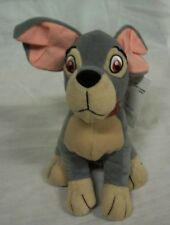 "Walt Disney Lady and the TRAMP DOG BEAN BAG 6""  STUFFED ANIMAL Toy NEW"