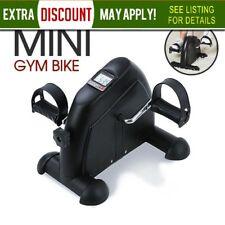 AU PORTABLE MINI TRAINER BIKE EXERCISE MACHINE HOME GYM PEDAL BIKES Black CYCLE