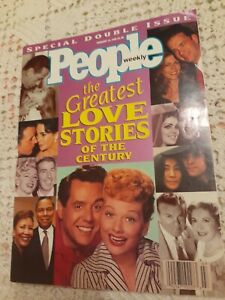 PEOPLE MAGAZINE - Vintage 1996 - Special Double Issue The Greatest Love Stories