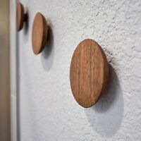 The Puck Wood Wall Hook | Coat & Hat | Towel | Bath Robe