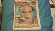 AUSTRALIAN ROLLING STONE ROCK MUSIC MAGAZINE, SEPT 1979 JAMES TAYLOR, THE KNACK