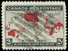 Scott # 85 - 1898 - ' Christmas Map of Br. Empire '