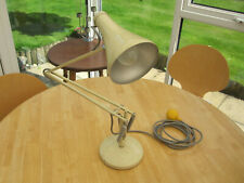 Vintage Herbert Terry Anglepoise Lamp, Cream.
