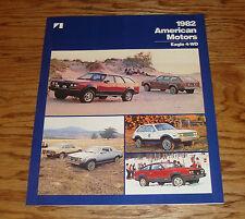 Original 1982 AMC American Motors Eagle 4WD Sales Brochure 82
