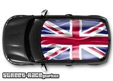 706 Car roof wrap printed sticker - Mini Cooper union jack